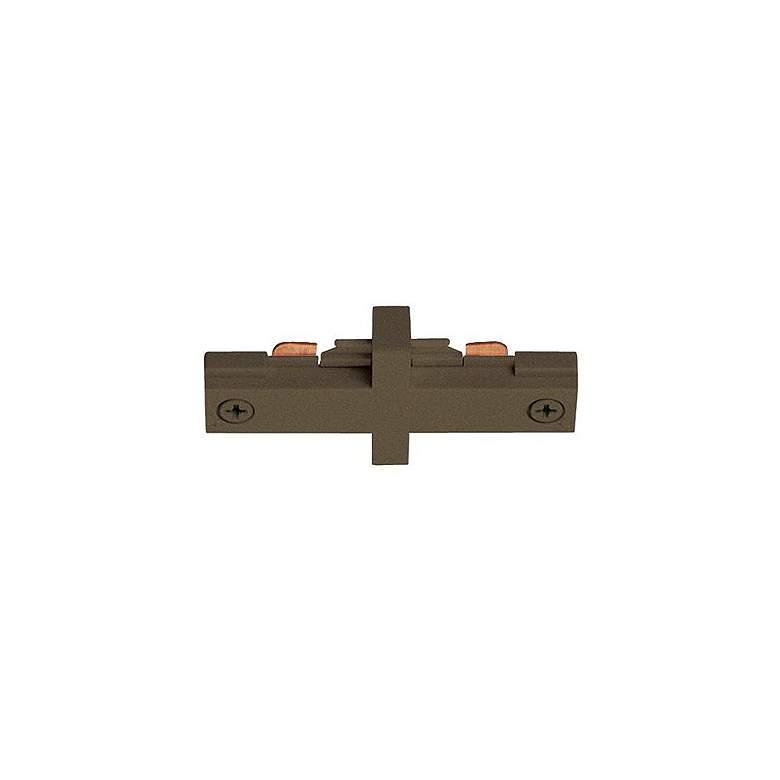 Juno Bronze Straight Mini Connector Track Joiner