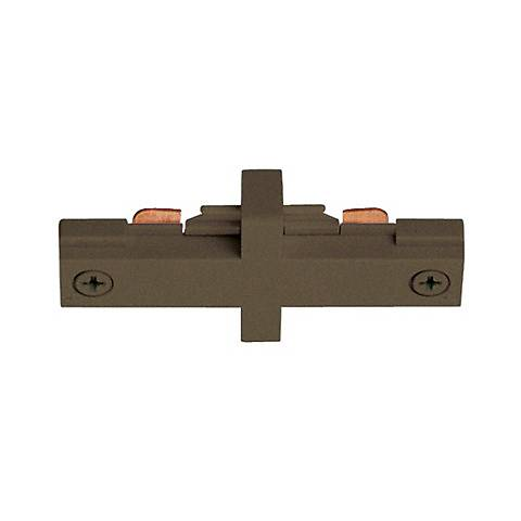 Juno Bronze Straight Mini Connector Track Joiner