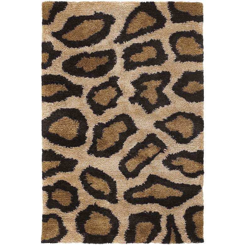 Chandra Amazon AMA5602 Black and Tan Cheetah Area