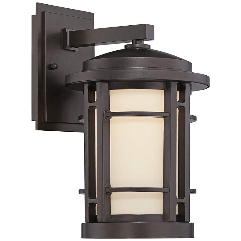 "Barrister 11 1/2"" High Bronze LED Outdoor Wall"