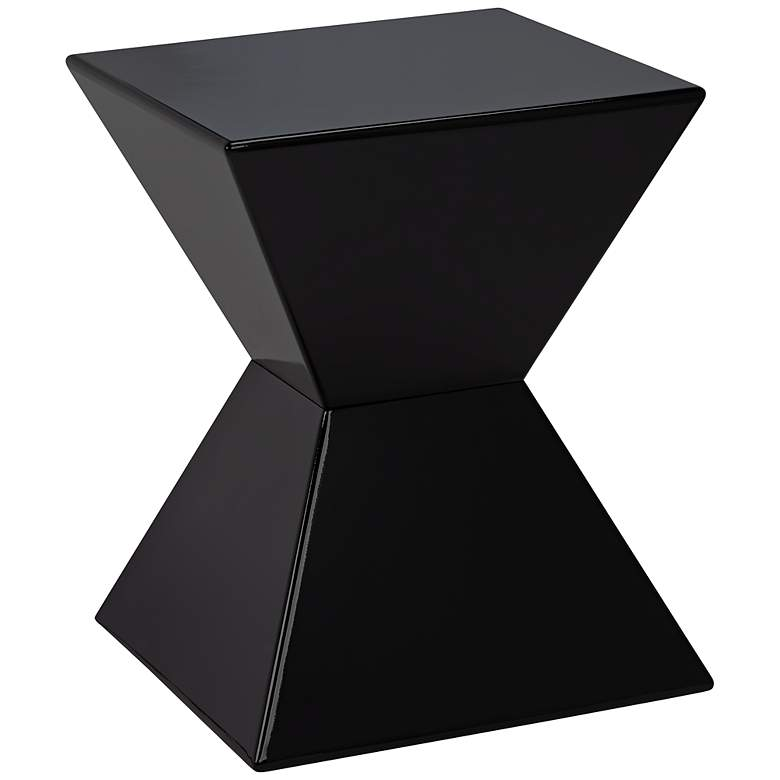 Rocco Modern Black End Table