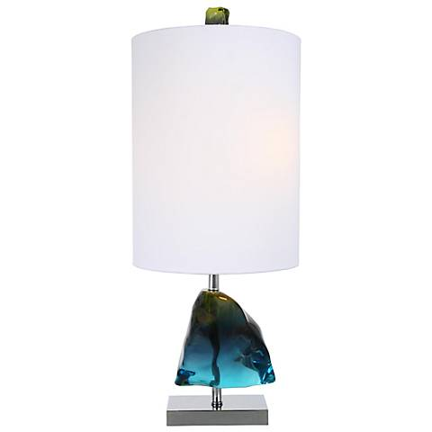 Van Teal Azure Gem Royal Blue Table Lamp