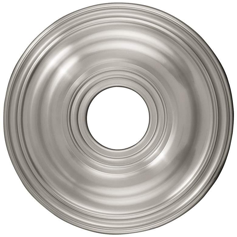 "Perryton 16"" Wide Brushed Nickel Ceiling Medallion"