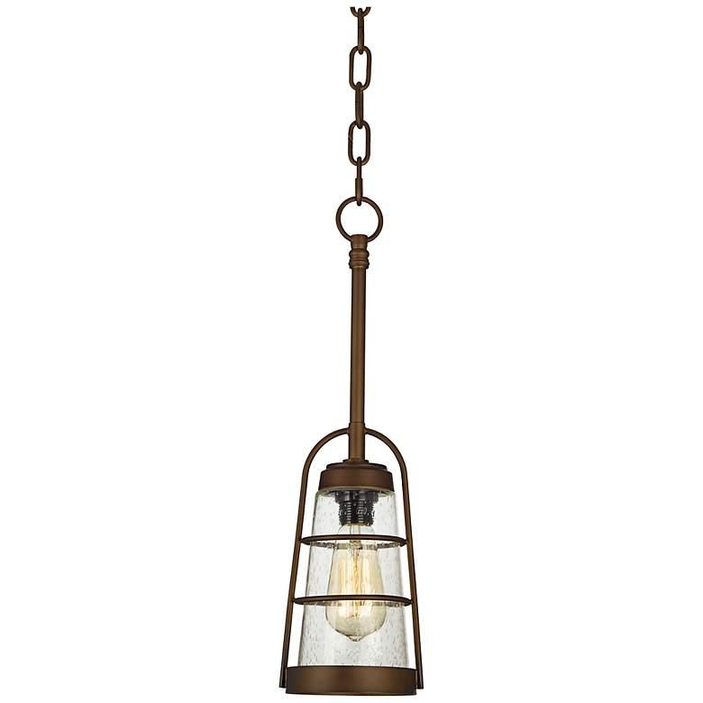 "Averill Park 5 1/4"" Wide Bronze Mini-Pendant Light"