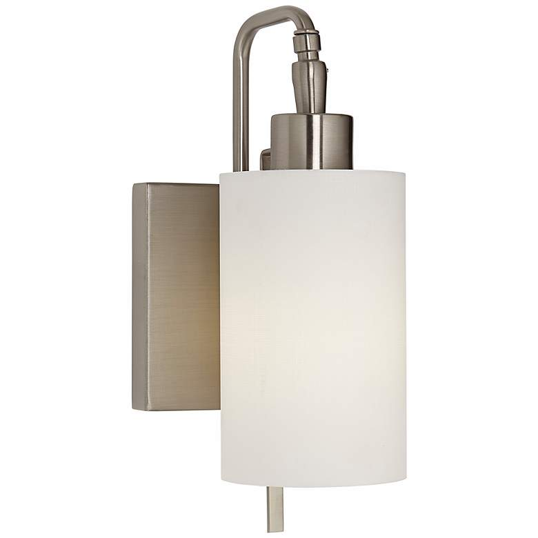 6H600 - Headboard Mount / Wall Mount Lamp Cylindrical Shade