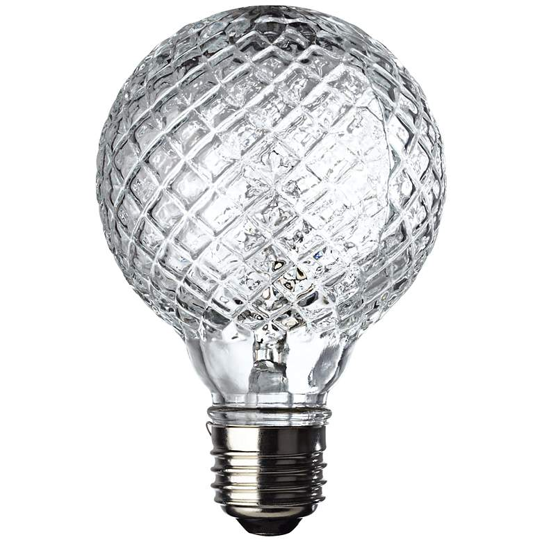 Westinghouse 40 Watt Faceted Halogen G25 Globe Vanity Bulb