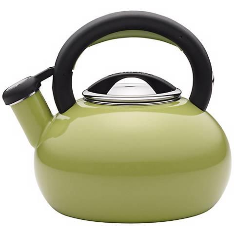 Circulon 2-Quart Sunrise Green Teakettle