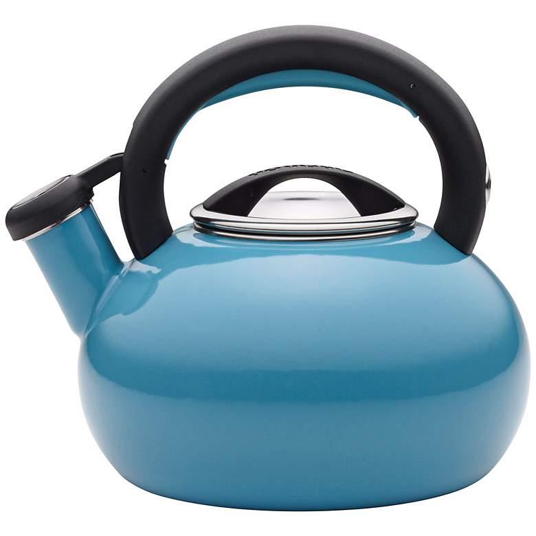 Circulon 2-Quart Sunrise Turquoise Teakettle
