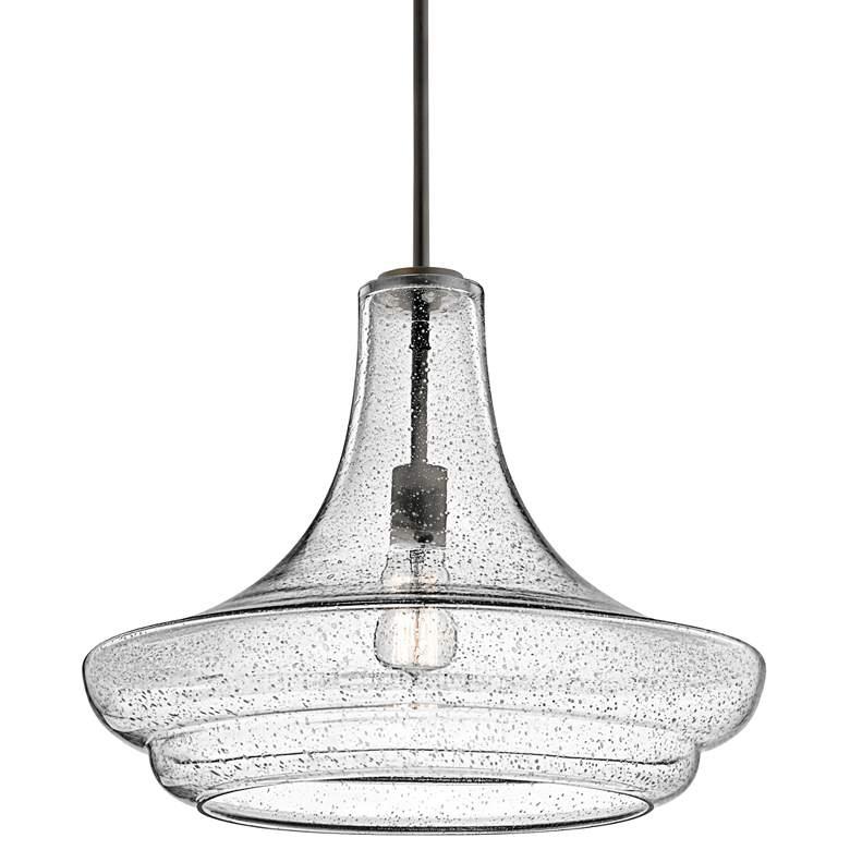 "Kichler Everly 19"" Wide Olde Bronze Pendant Light"