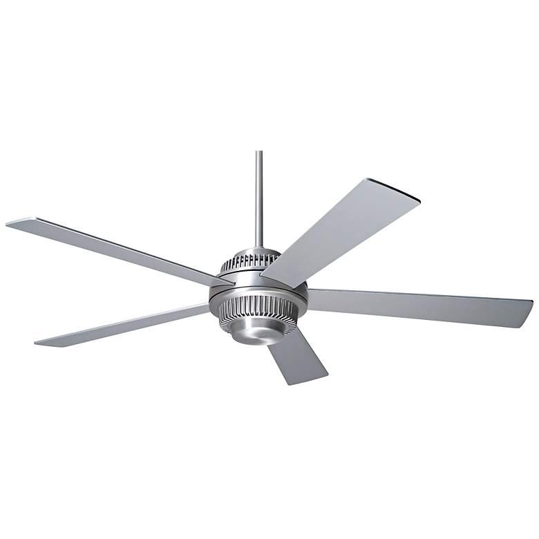 """52"""" Modern Fan Solus Brushed Aluminum Ceiling Fan"""