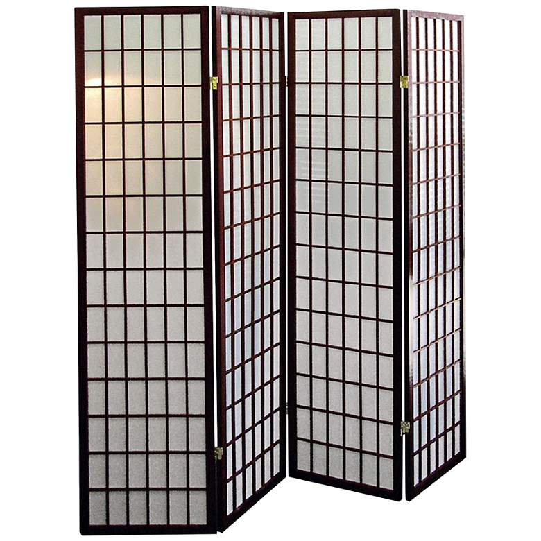 "Tomball 60"" Wide Shoji Paper 4-Panel Room Divider"
