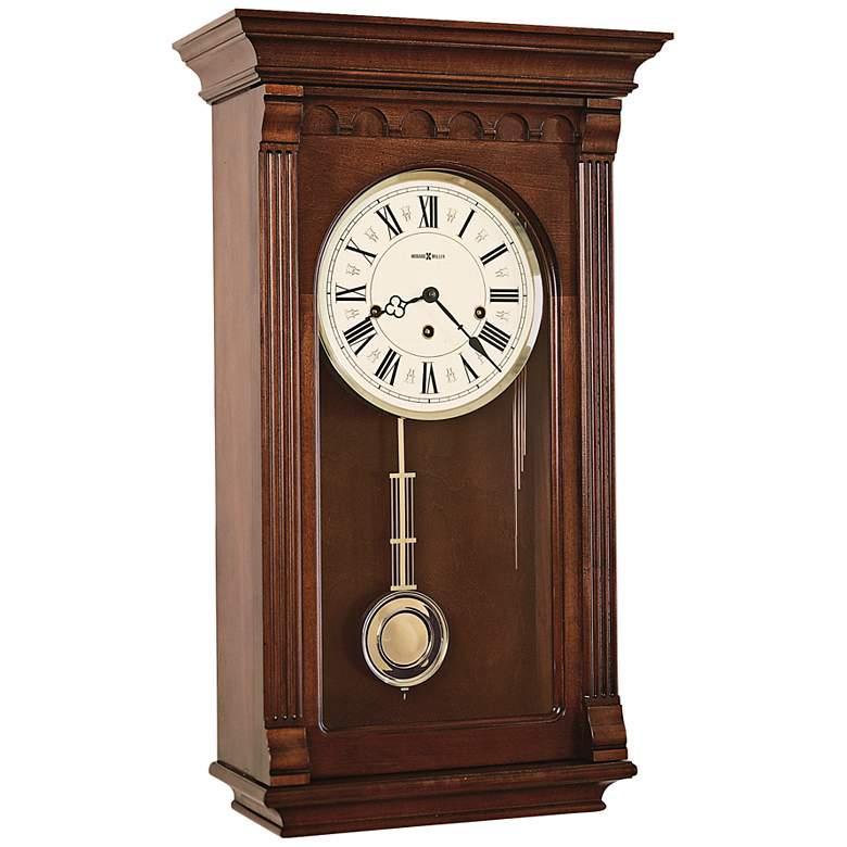 "Howard Miller Alcott Windsor Cherry 23 3/4"" High Wall Clock"