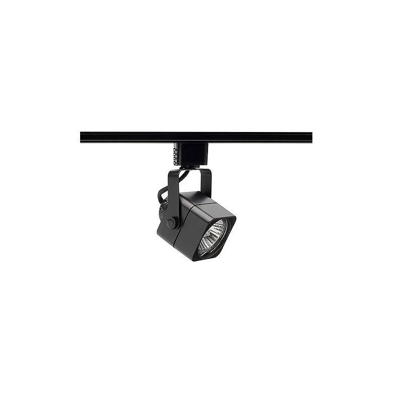 Juno Trac-Lites 50 Watt GU10 Black Cast Cube Track Head