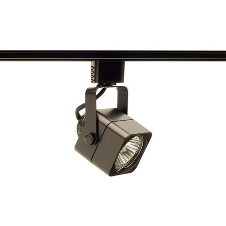 Juno Trac-Lites 50 Watt GU10 Bronze Cast Cube Track Head  sc 1 st  L&s Plus & Juno Trac-Lites 50 Watt GU10 Bronze Cast Cube Track Head - #6J355 ...