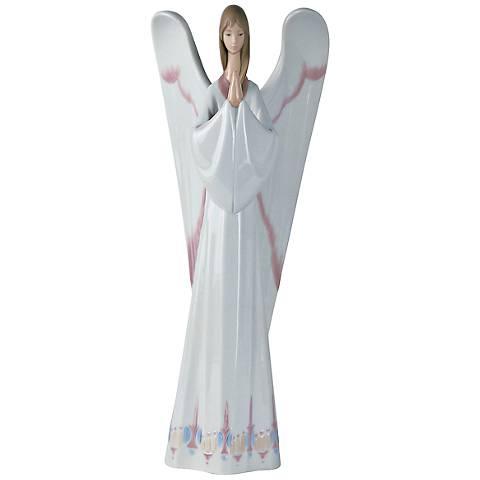 """Nao An Angel's Prayer 12 1/4""""H Porcelain Sculpture"""