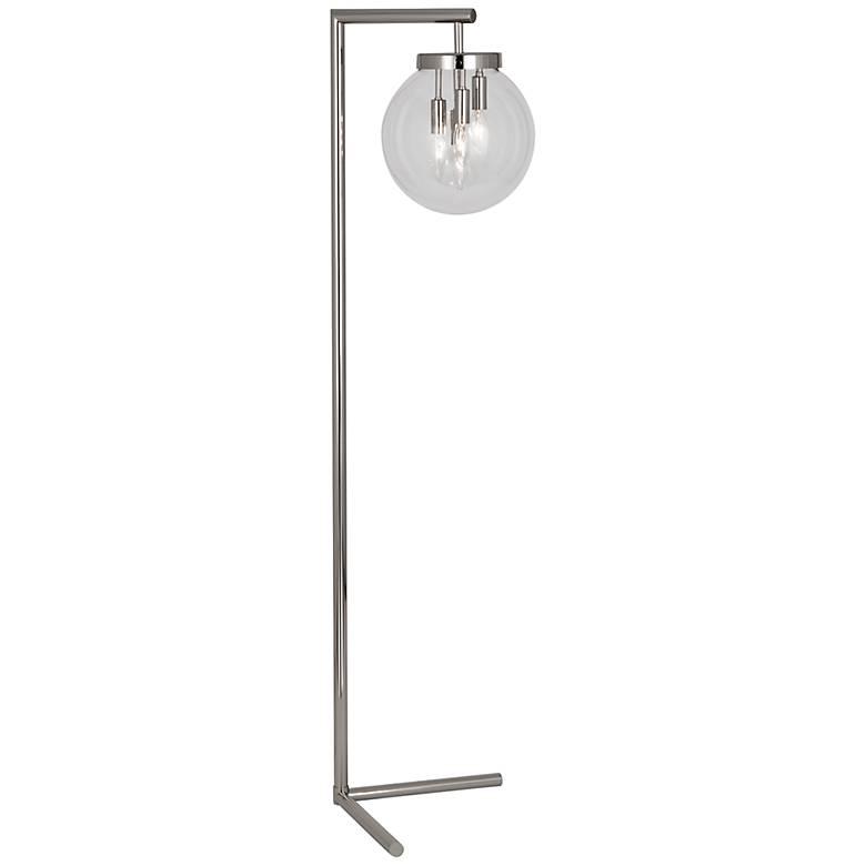 Zoltar Polished Nickel Floor Lamp by Robert Abbey