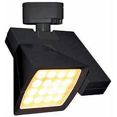 Wac track lighting lamps plus wac logos 36 degree black 38w led track head for juno aloadofball Gallery