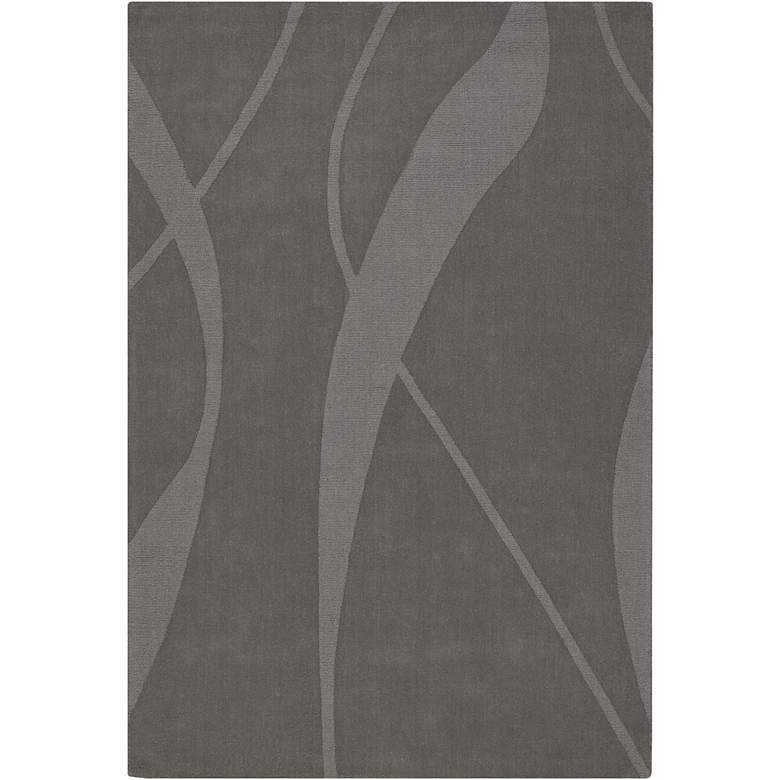 Chandra Jaipur JAI18909 Gray Wool Area Rug