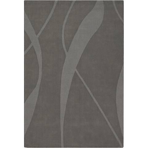 Chandra Jaipur JAI18909 Gray Wool Area Rug
