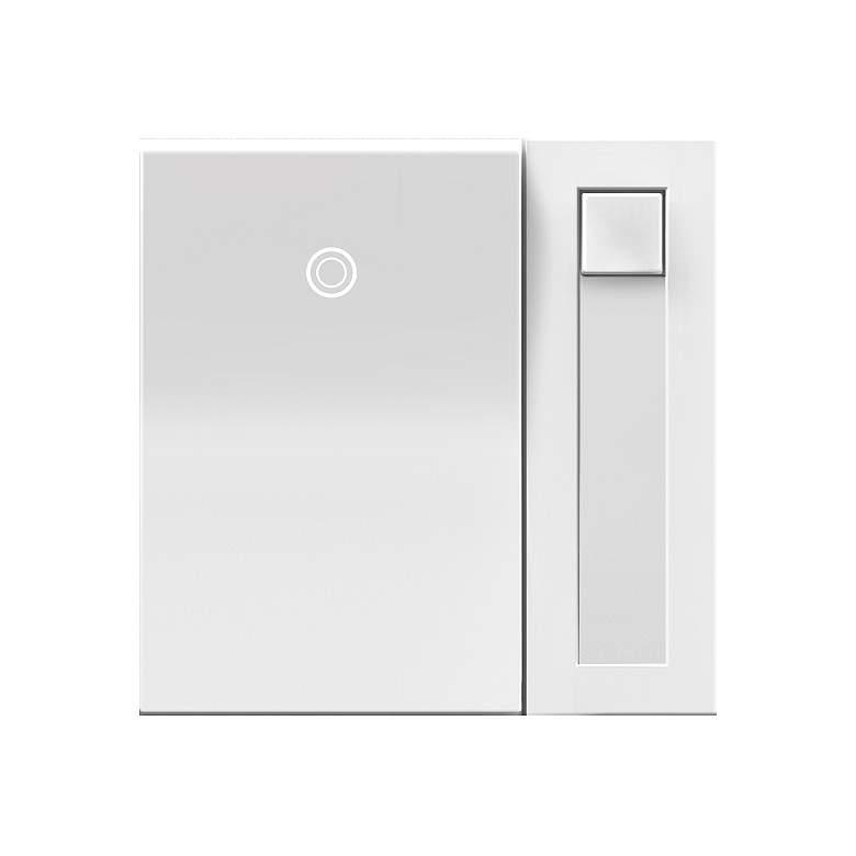 adorne® White 450 Watt CFL/LED/Incandescent Paddle Dimmer