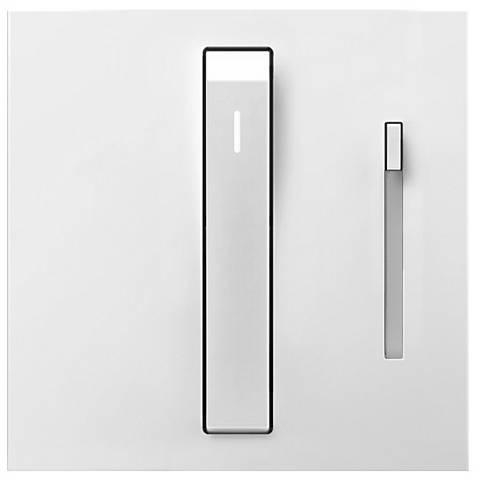 adorne® White 700 Watt Whisper Dimmer with Status Light