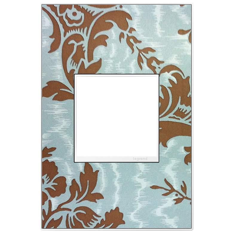 adorne® 1-Gang White Trim Customizable Wall Plate