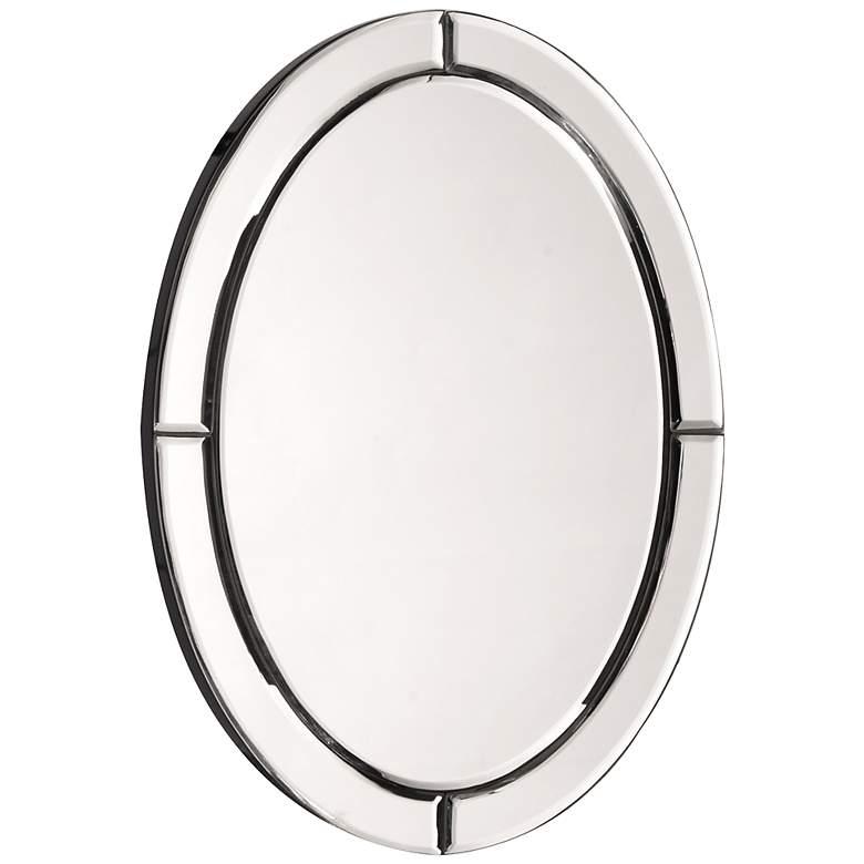 "Howard Elliott Opal Beaded 12"" x 16"" Wall Mirror"