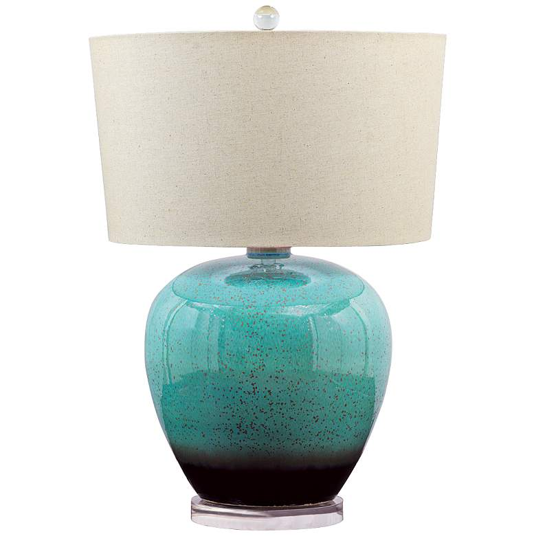 Laguna Turquoise Porcelain Table Lamp