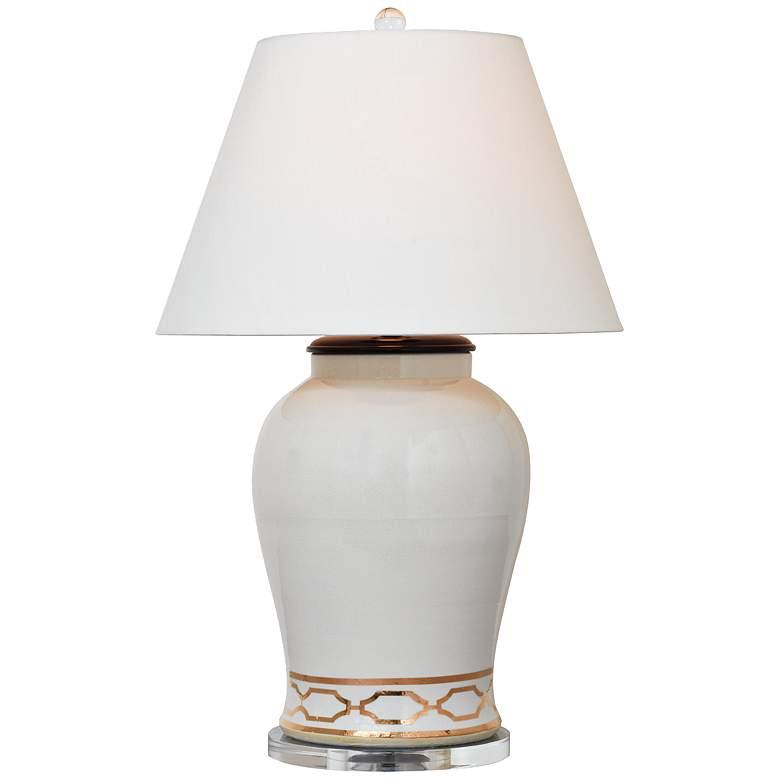 Pavillion White Porcelain Table Lamp