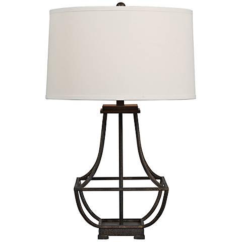 Deerfield Metal Table Lamp