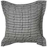 """Houndstooth 26"""" Square Pillow Sham"""