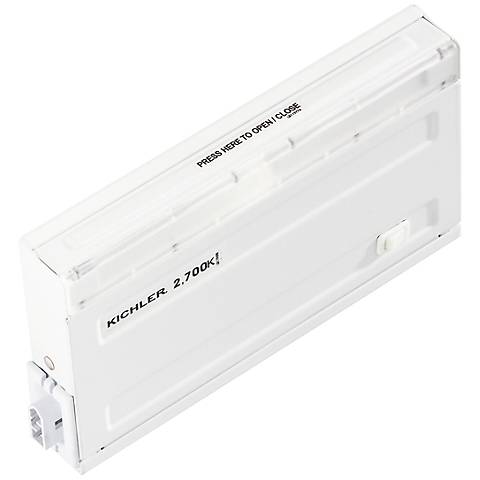 "Design Pro White 7 3/4"" Link-Only LED Under Cabinet Light"
