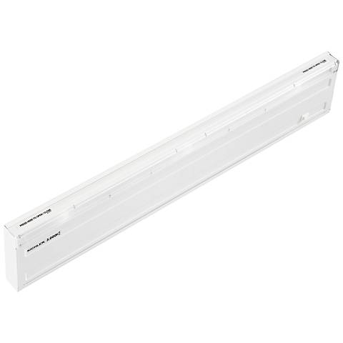 "Design Pro White 22 3/4"" Linkable LED Under Cabinet Light"