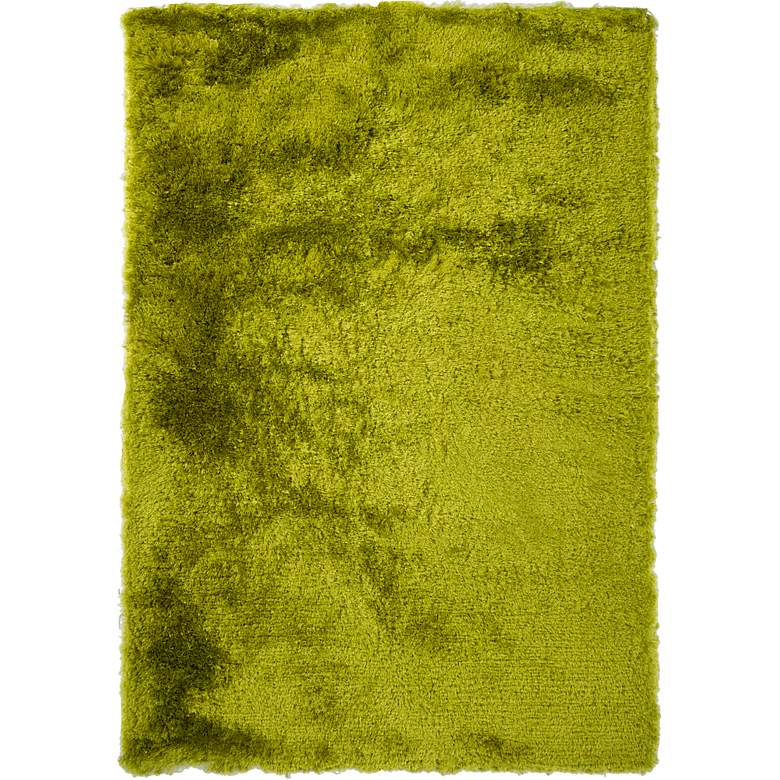 "Chandra Naya NAY18800 5'x7'6"" Green Shag Area Rug"