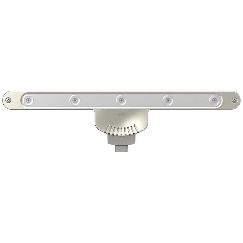"Adorne Linear 10"" Wide LED Titanium Undercabinet Light"