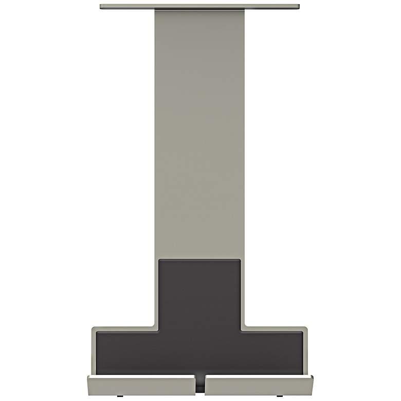 adorne® Titanium Undercabinet Tablet Cradle