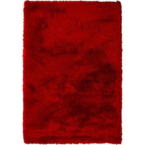 Chandra Naya NAY18802 Red Shag Area Rug