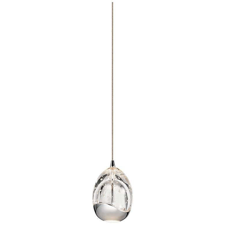 """Elan Lavinia 3 1/2"""" Wide Chrome Finish LED Mini-Pendant"""