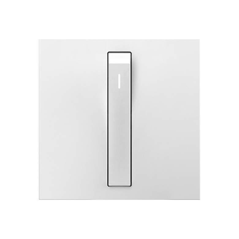 adorne® Whisper White Single-Pole 15A Light Switch