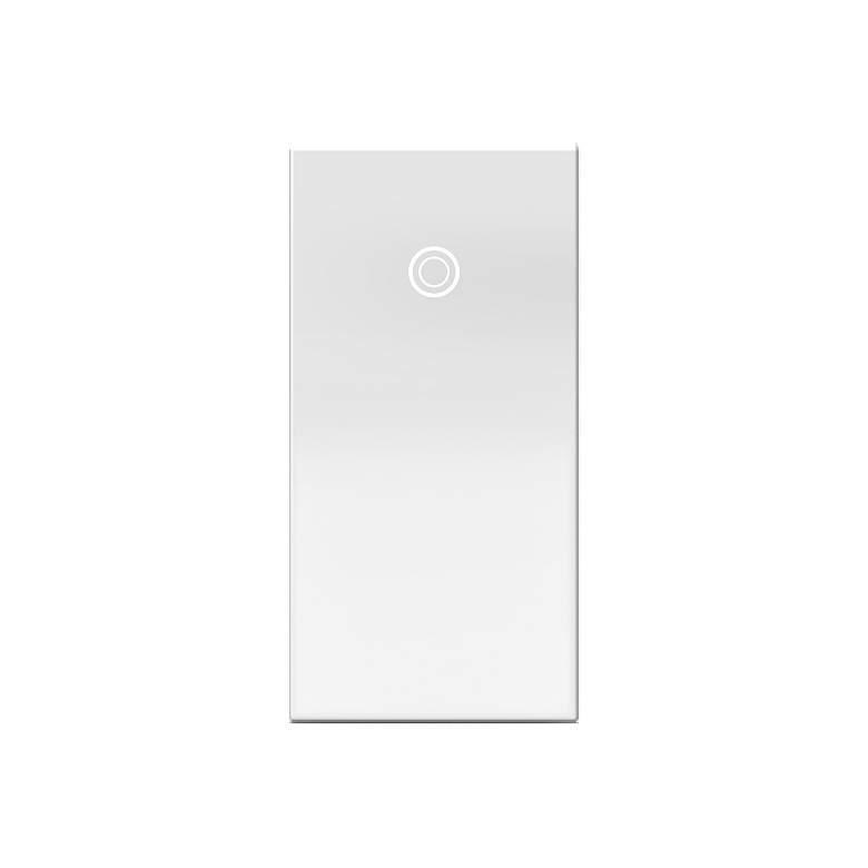 adorne® Single-Module 1/2 Gang 15A White Paddle Switch