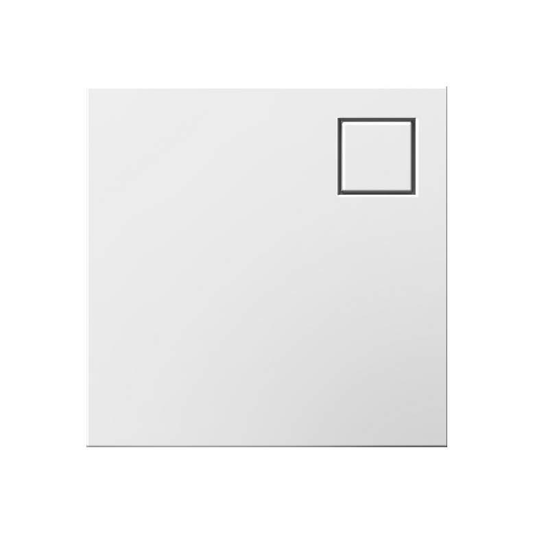 adorne® White Portable Wall Nightlight-Flashlight Module