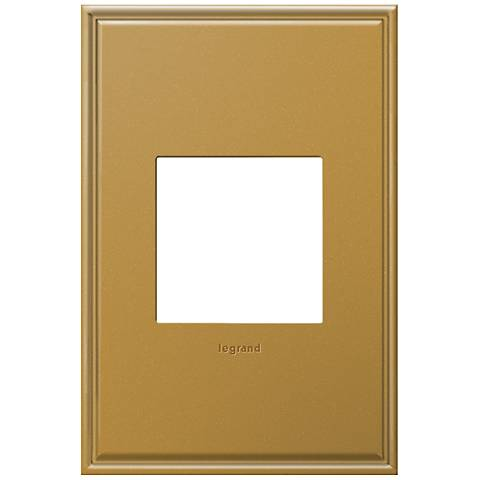 adorne® 1-Gang Cast Metal Antique Bronze Wall Plate