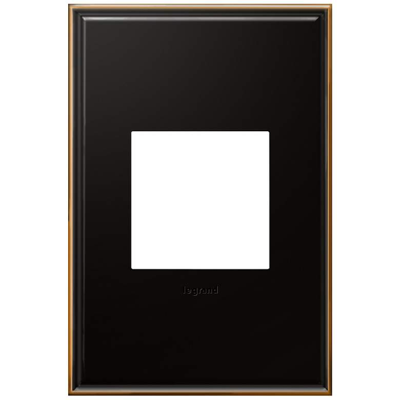 adorne® 1-Gang Oil Rubbed Bronze Wall Plate