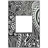 adorne® 1-Gang Magnesium Trim Customizable Wall Plate