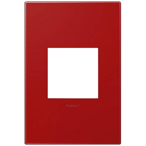 adorne® Cherry 1-Gang Snap-On Wall Plate