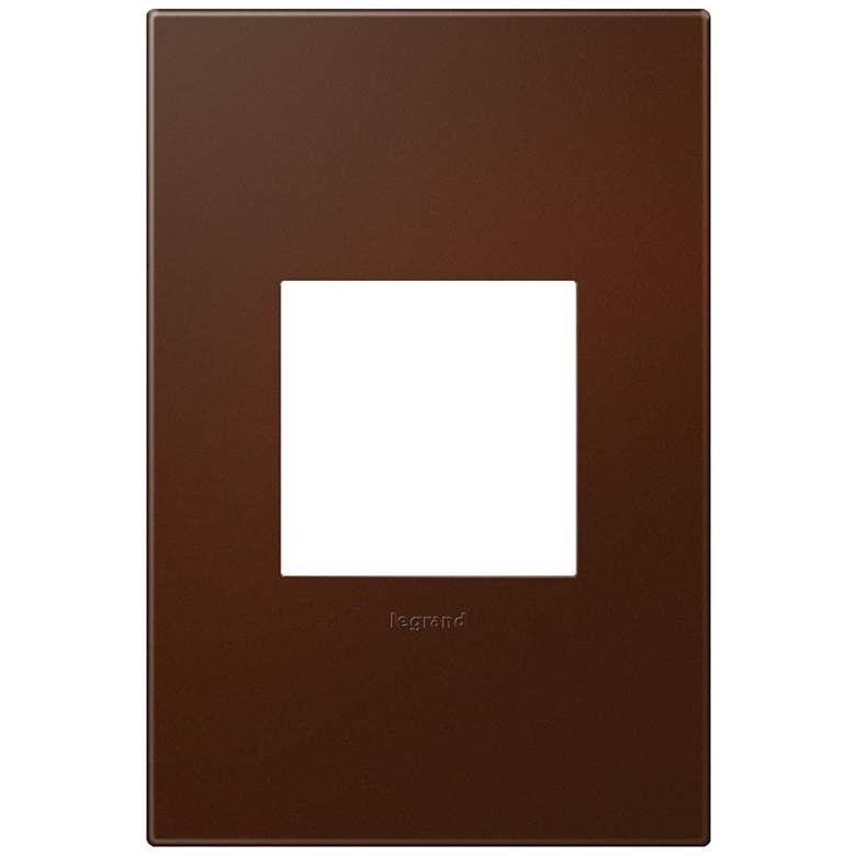 adorne® Soft Touch Russet 1-Gang Wall Plate