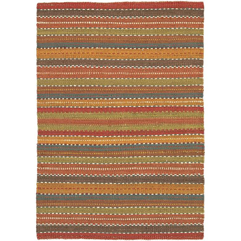 Chandra Saket SAK3705 Multi-Color Jute Area Rug