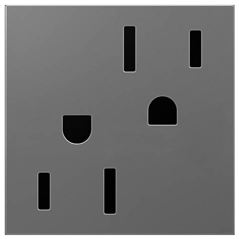 adorne® Magnesium 15A Tamper-Resistant Wall Outlet