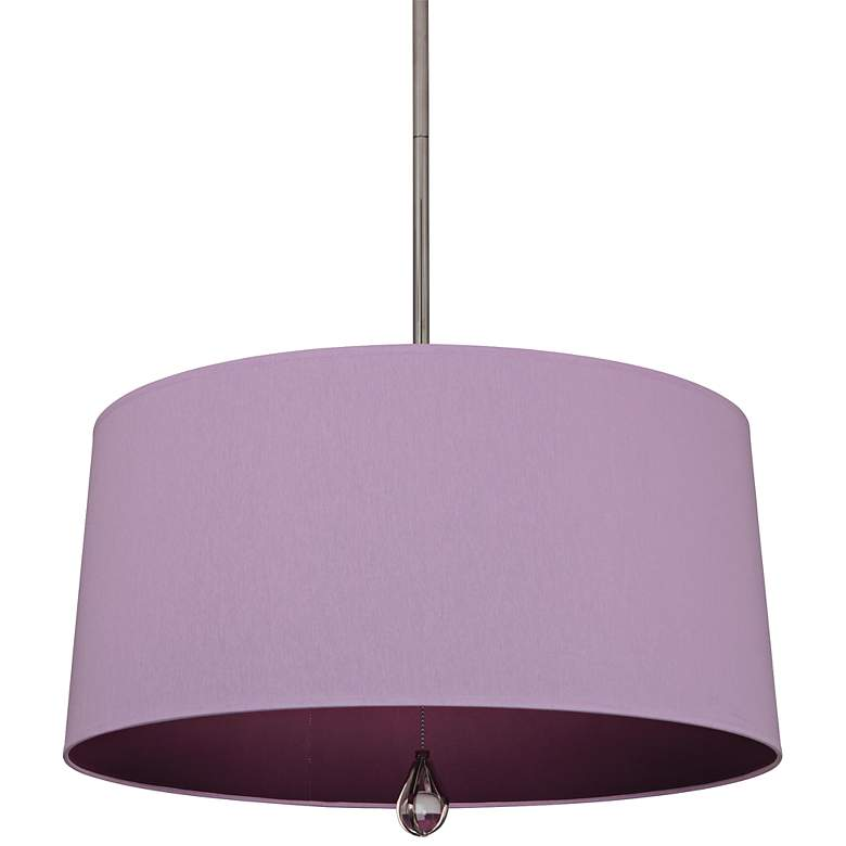 """Custis Collection 25 1/2"""" Wide Ludwell Lilac Pendant"""