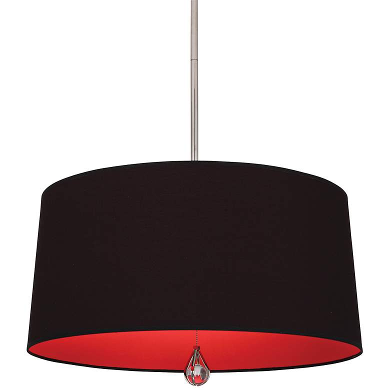 "Custis Collection 25 1/2"" Wide Blacksmith Black Pendant"